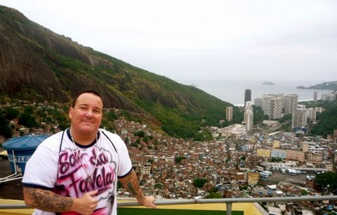 Deejay Zezinho in Rocinha