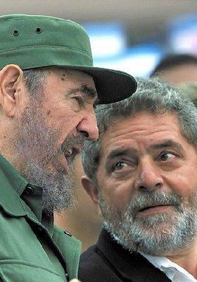 Lula with Castro
