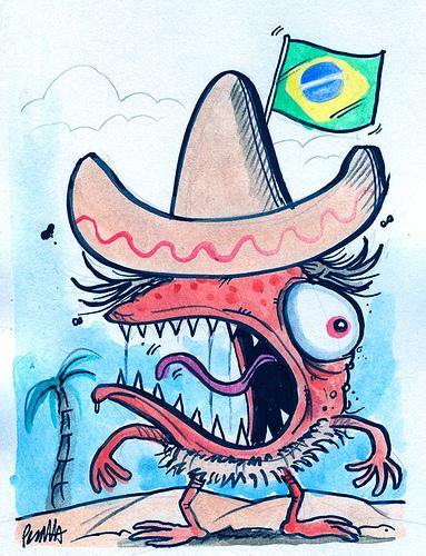 Brazil Zombie