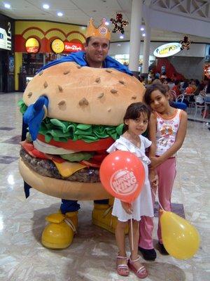 Burger King Man